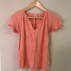 Old Navy Peach Blouse